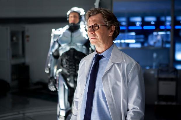 "Gary Oldman in Columbia Pictures' ""RoboCop,"" starring Joel Kinnaman."
